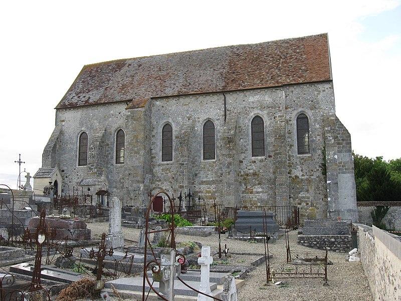 Photo du Monument Historique Eglise de Lourps situé à Longueville