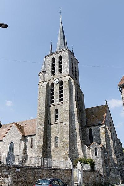 Photo du Monument Historique Eglise de Lorrez-le-Bocage situé à Lorrez-le-Bocage-Préaux