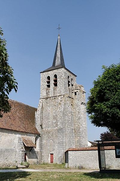 Photo du Monument Historique Eglise de Préaux situé à Lorrez-le-Bocage-Préaux