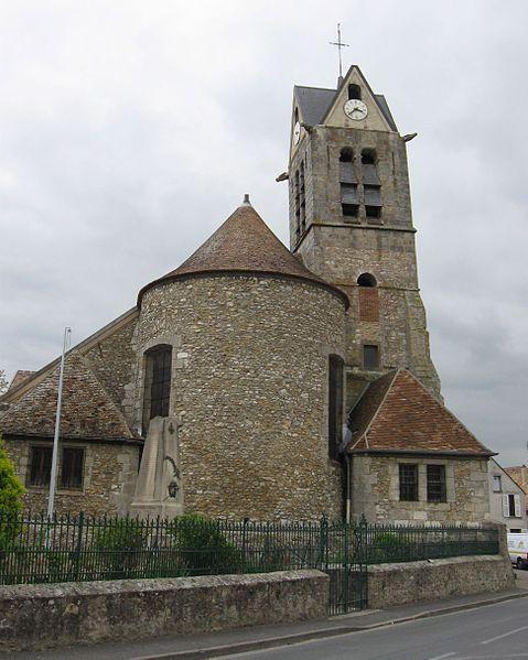 Photo du Monument Historique Eglise Saint-Etienne situé à Maincy