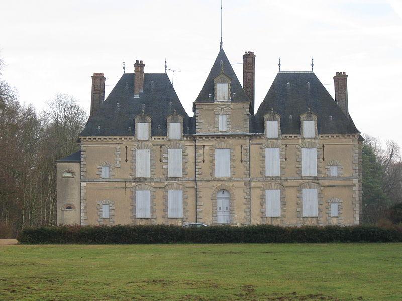 Photo du Monument Historique Domaine de Motteux situé à Marolles-sur-Seine