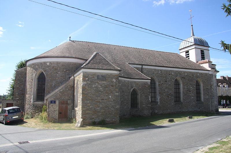 Photo du Monument Historique Eglise Saint-Pierre situé à Mauperthuis