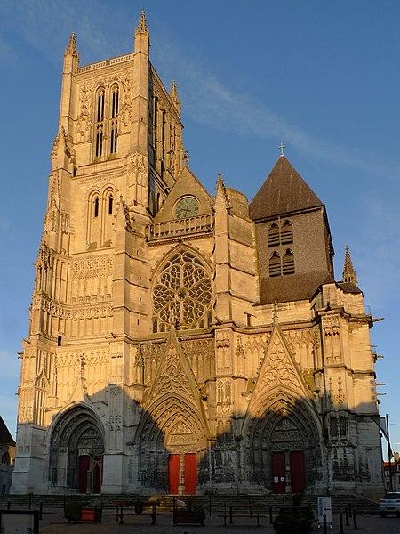 Photo du Monument Historique Cathédrale Saint-Etienne situé à Meaux