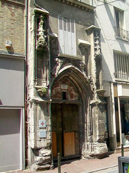 Photo du Monument Historique Eglise Saint-Christophe situé à Meaux
