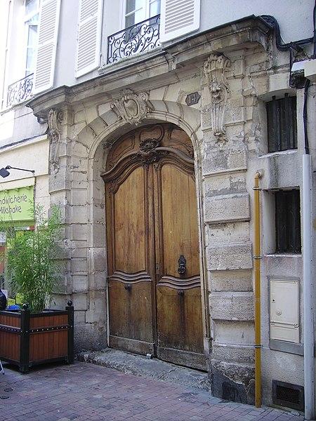 Photo du Monument Historique Immeuble situé à Meaux