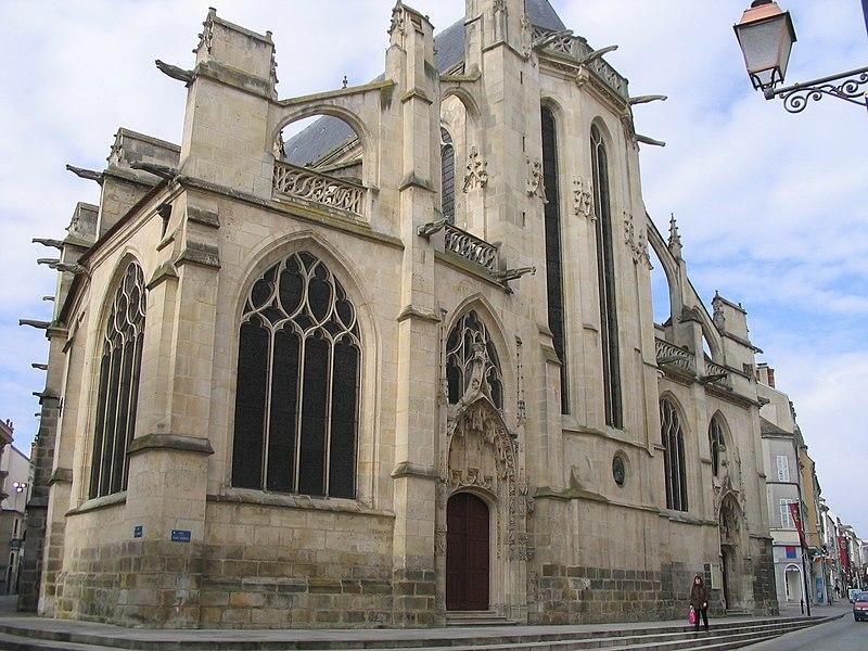Photo du Monument Historique Eglise Saint-Aspais situé à Melun