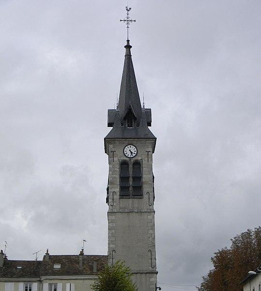 Photo du Monument Historique Eglise Saint-Barthélémy situé à Melun