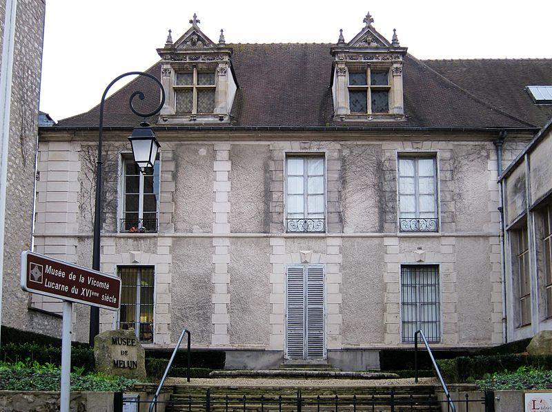 Photo du Monument Historique Ancien Hôtel de la Vicomté, actuellement musée situé à Melun
