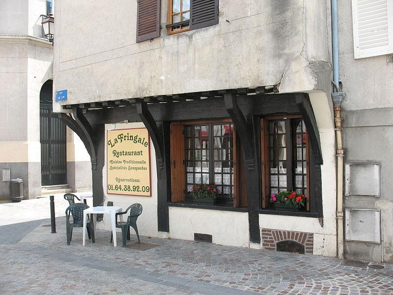 Photo du Monument Historique Immeuble situé à Melun