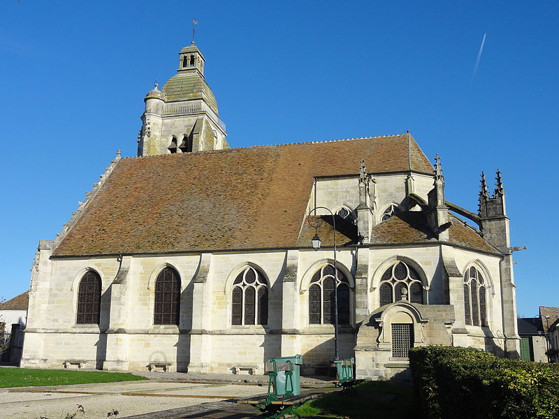 Photo du Monument Historique Eglise Saint-Martin situé à Le Mesnil-Amelot
