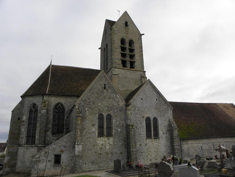 Photo du Monument Historique Eglise Saint-Martin situé à Mons-en-Montois