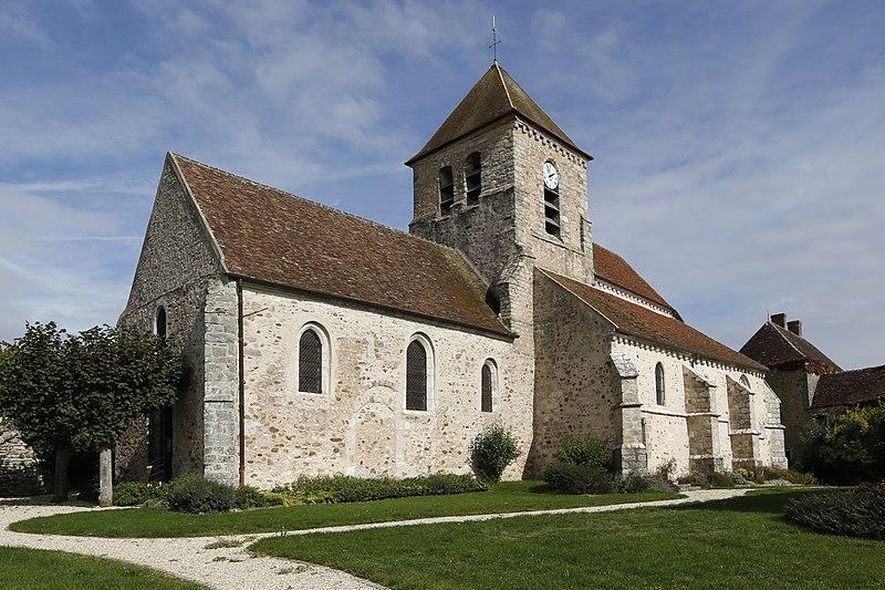 Photo du Monument Historique Eglise Saint-Germain situé à Montceaux-lès-Provins