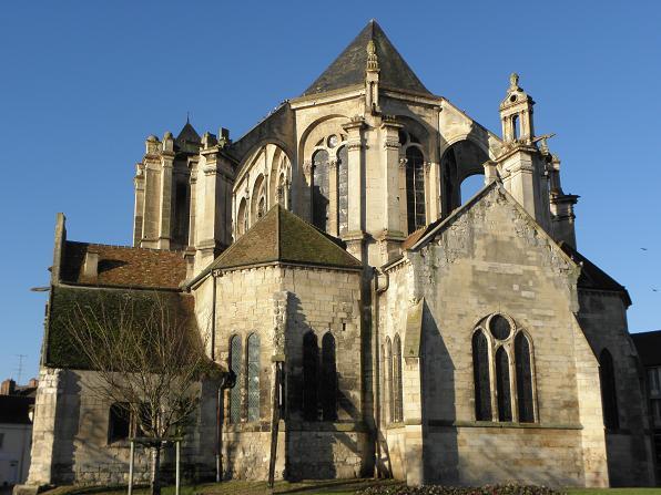 Photo du Monument Historique Eglise Notre-Dame situé à Montereau-Fault-Yonne