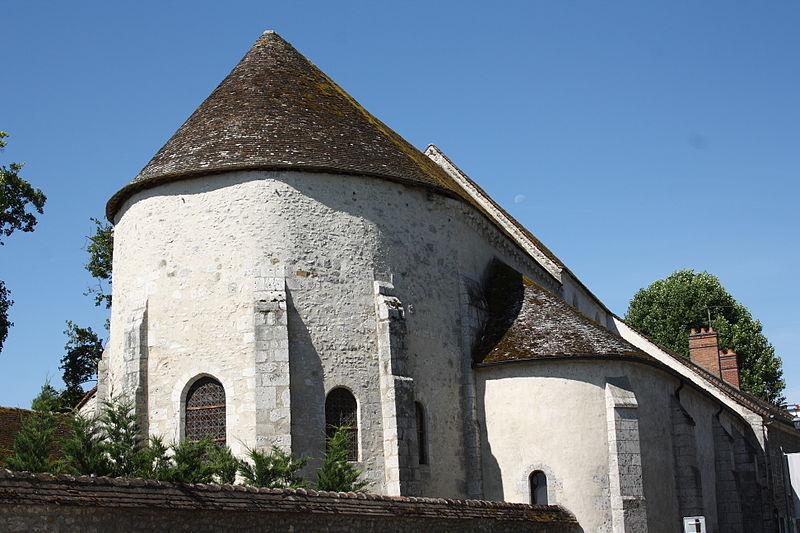 Photo du Monument Historique Chapelle Saint-Pierre de Pontloup situé à Moret-sur-Loing