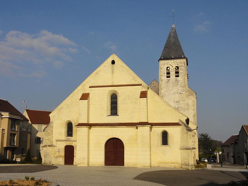 Photo du Monument Historique Eglise Saint-Vincent situé à Moussy-le-Neuf