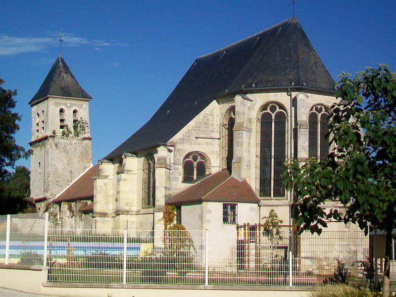 Photo du Monument Historique Eglise Saint-Martin situé à Moussy-le-Vieux