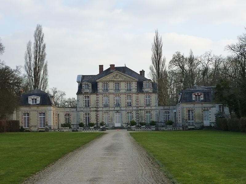 Photo du Monument Historique Chateau situé à Nandy