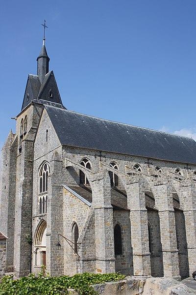 Photo du Monument Historique Eglise Saint-Martin et Saint-Magne situé à Nangis
