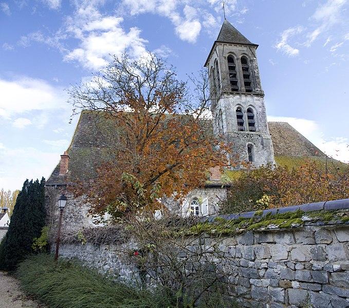 Photo du Monument Historique Eglise situé à Noisy-sur-Ecole