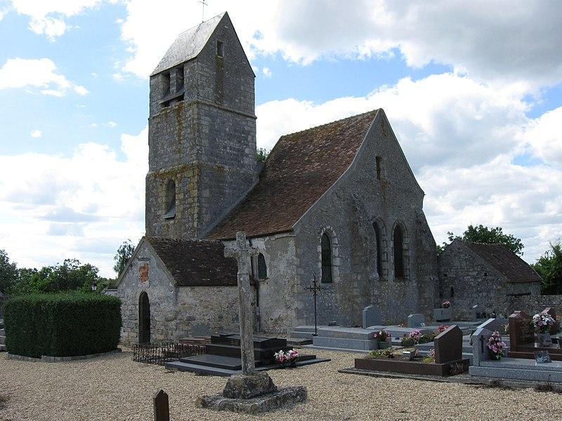 Photo du Monument Historique Eglise situé à Ormesson