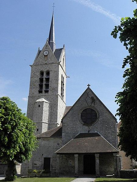 Photo du Monument Historique Eglise Sainte-Marie-Madeleine situé à Pécy