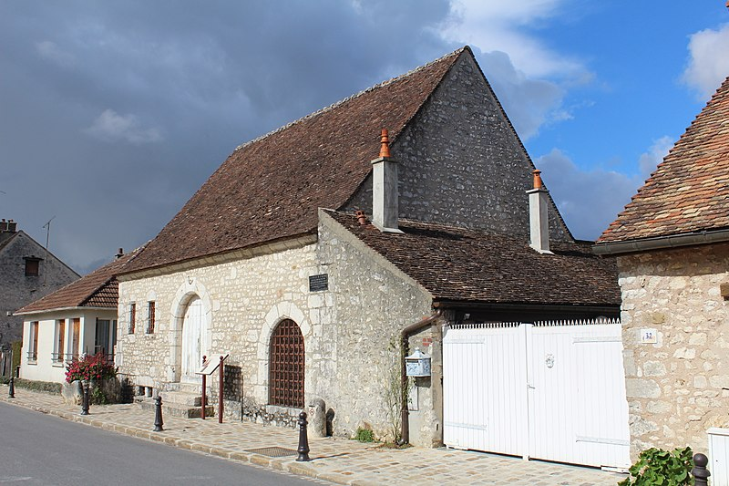 Photo du Monument Historique Hôpital du Saint-Esprit situé à Provins