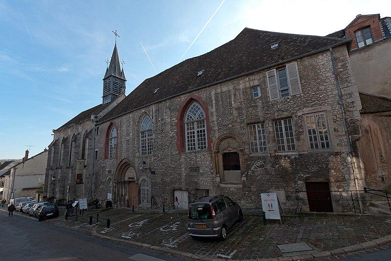 Photo du Monument Historique Hôtel-Dieu situé à Provins