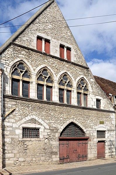 Photo du Monument Historique Hôtel Vauluisant situé à Provins