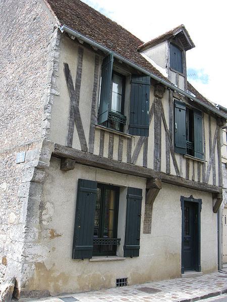 Photo du Monument Historique Maison situé à Provins