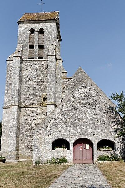 Photo du Monument Historique Eglise situé à Remauville