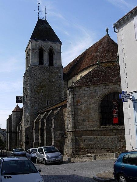 Photo du Monument Historique Eglise Notre-Dame situé à Rozay-en-Brie