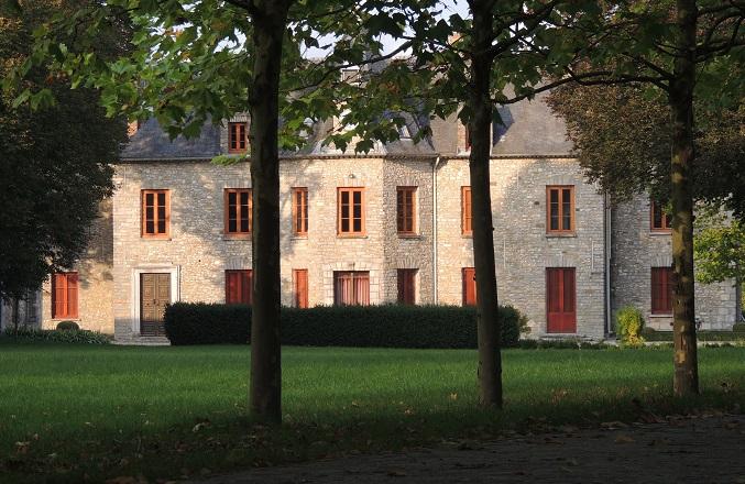 Photo du Monument Historique Domaine de Rubelles situé à Rubelles