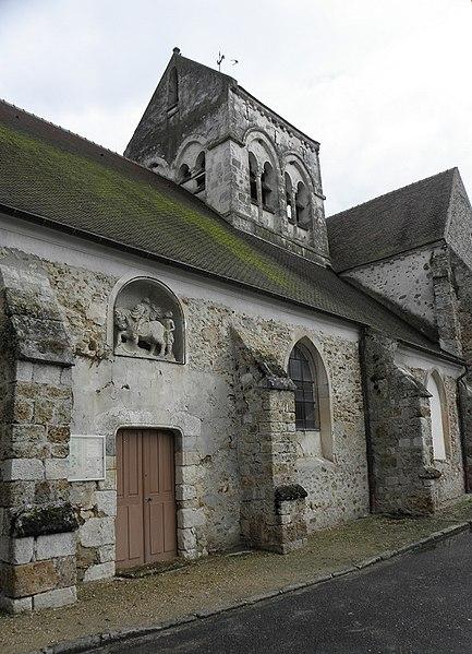 Photo du Monument Historique Eglise Saint-Martin situé à Sablonnières