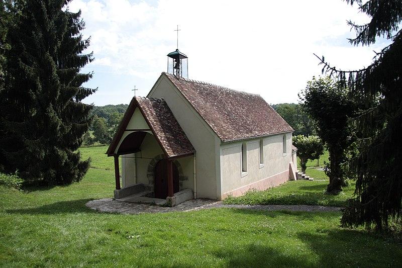 Photo du Monument Historique Chapelle Sainte-Aubiège situé à Saint-Augustin