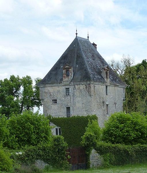 Photo du Monument Historique Prieuré et Tour dite Haute Maison situé à Saint-Loup-de-Naud