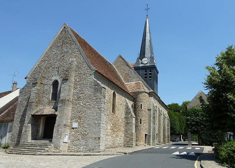 Photo du Monument Historique Eglise situé à Saint-Méry