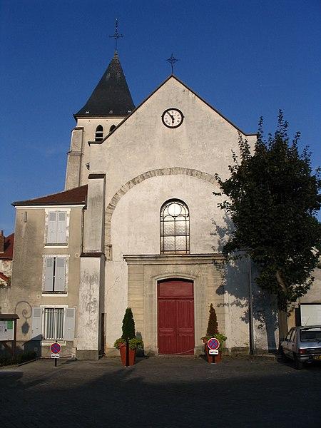Photo du Monument Historique Eglise situé à Saint-Thibault-des-Vignes