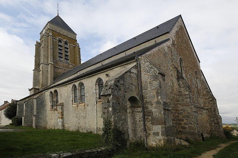 Photo du Monument Historique Eglise situé à Sancy-lès-Provins