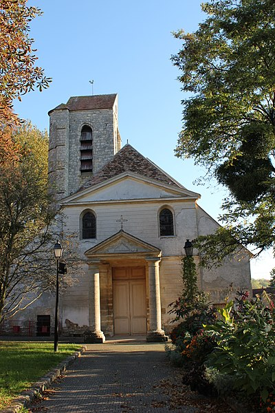 Photo du Monument Historique Eglise Sainte-Colombe situé à Servon