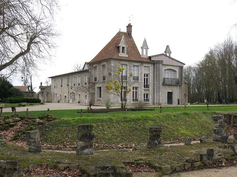 Photo du Monument Historique Abbaye de Cercanceau situé à Souppes-sur-Loing