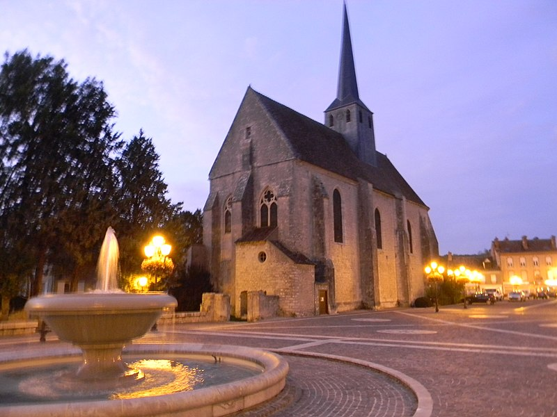 Photo du Monument Historique Eglise Saint-Clair-Saint-Léger situé à Souppes-sur-Loing