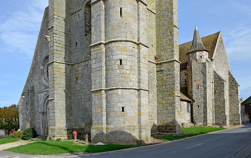 Photo du Monument Historique Eglise Saint-Martin situé à Sourdun
