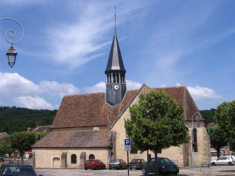 Photo du Monument Historique Eglise Saint-Amand situé à Thomery