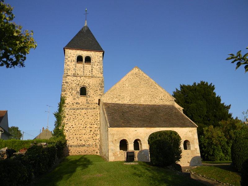 Photo du Monument Historique Eglise situé à Treuzy-Levelay