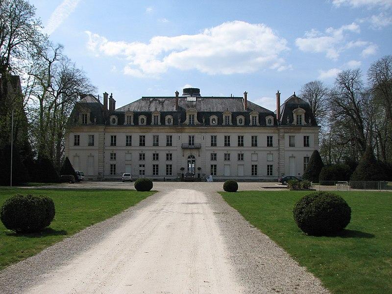 Photo du Monument Historique Château situé à Vaux-le-Pénil