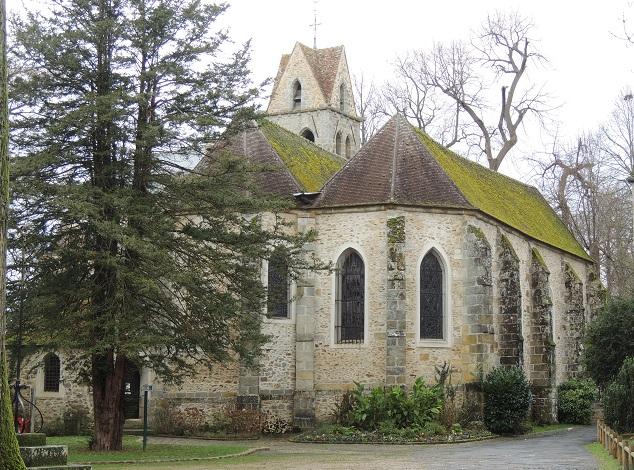 Photo du Monument Historique Eglise situé à Vaux-le-Pénil