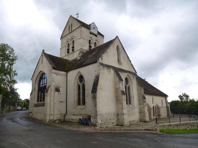Photo du Monument Historique Eglise Saint-Pierre situé à Coulombs-en-Valois