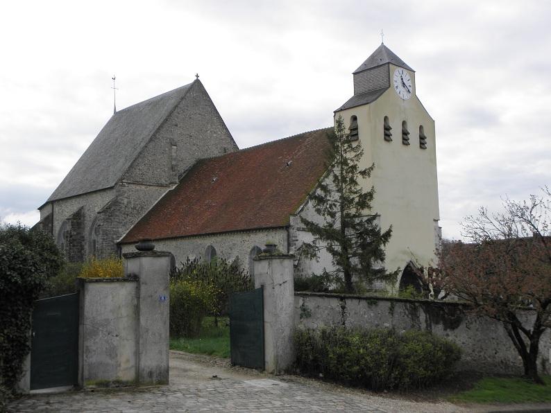 Photo du Monument Historique Eglise Saint-Crépin-Saint-Crépinien situé à Verdelot