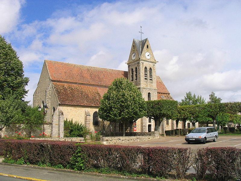 Photo du Monument Historique Eglise Saint-Pierre situé à Vert-Saint-Denis