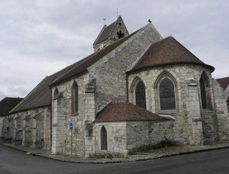 Photo du Monument Historique Eglise situé à Villeneuve-sur-Bellot